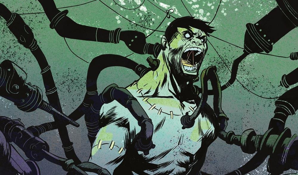 Phong cách thủy sinh Frankenstein